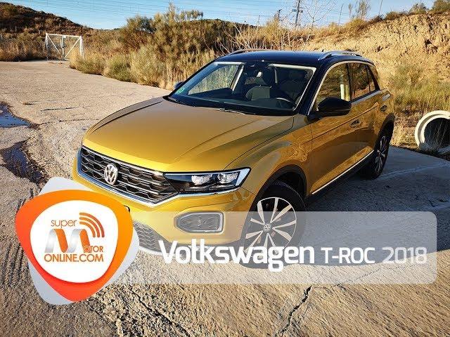 Volkswagen T ROC 2018 / Al volante / Prueba dinámica / Review / Supermotoronline.com
