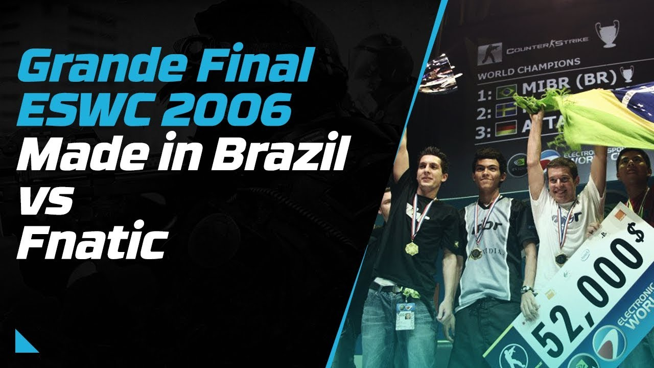 mibr vs fnatic eswc 2006 demo da final
