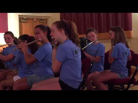 Katie Scott - flute - Syncopated Clock - 2017 Westchester  County Summer Music Program.