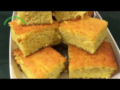 KETO CORNBREAD RECIPE//sweet and moist