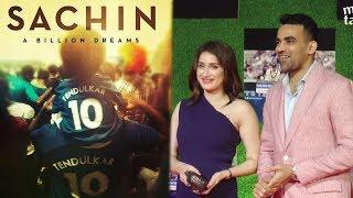 Zaheer Khan and Sagarika Ghatge's Reaction On Sachin Tendulkar's Movie