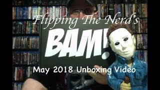 Bam Box Horror Unboxing Video - May 2018 & Nick Castle Expansion