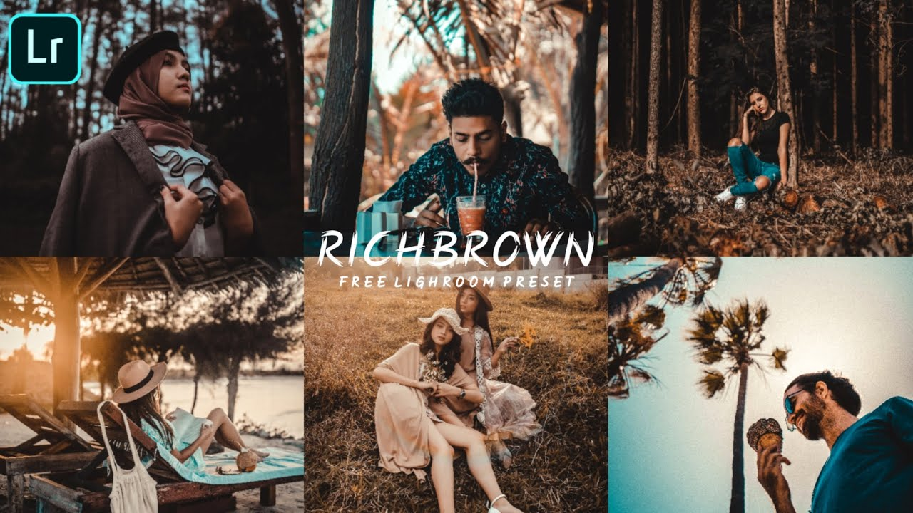 Lightroom mobile preset DNG Free Download | Rich Brown Photography Preset ( Moody preset )