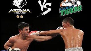 Astana Arlans VS Uzbek Tigers   Видео-обзор матча (Усть-Каменогорск, 02.04.16)
