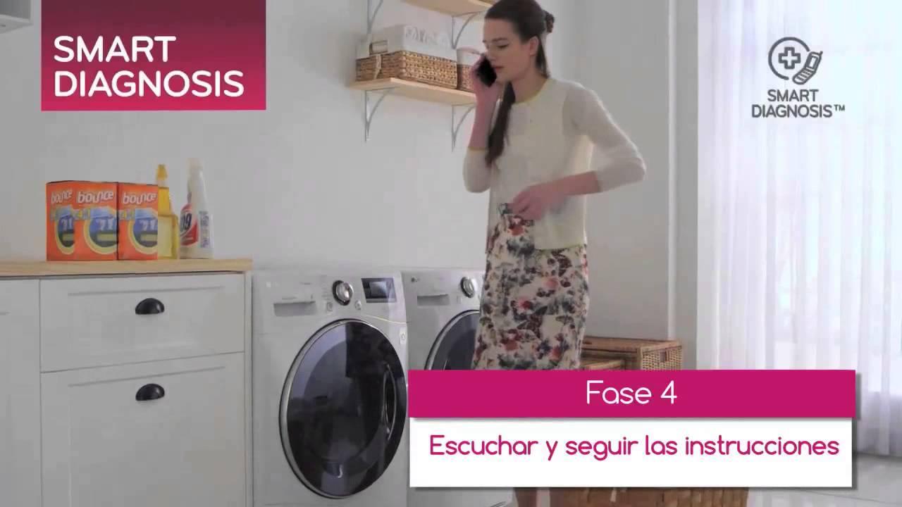 LG: Smart Diagnosis, las lavadoras que hablan