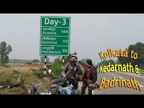 Lucknow to Bheemtal  || DAY 3 || Kolkata - Kedarnath & Badrinath Ride