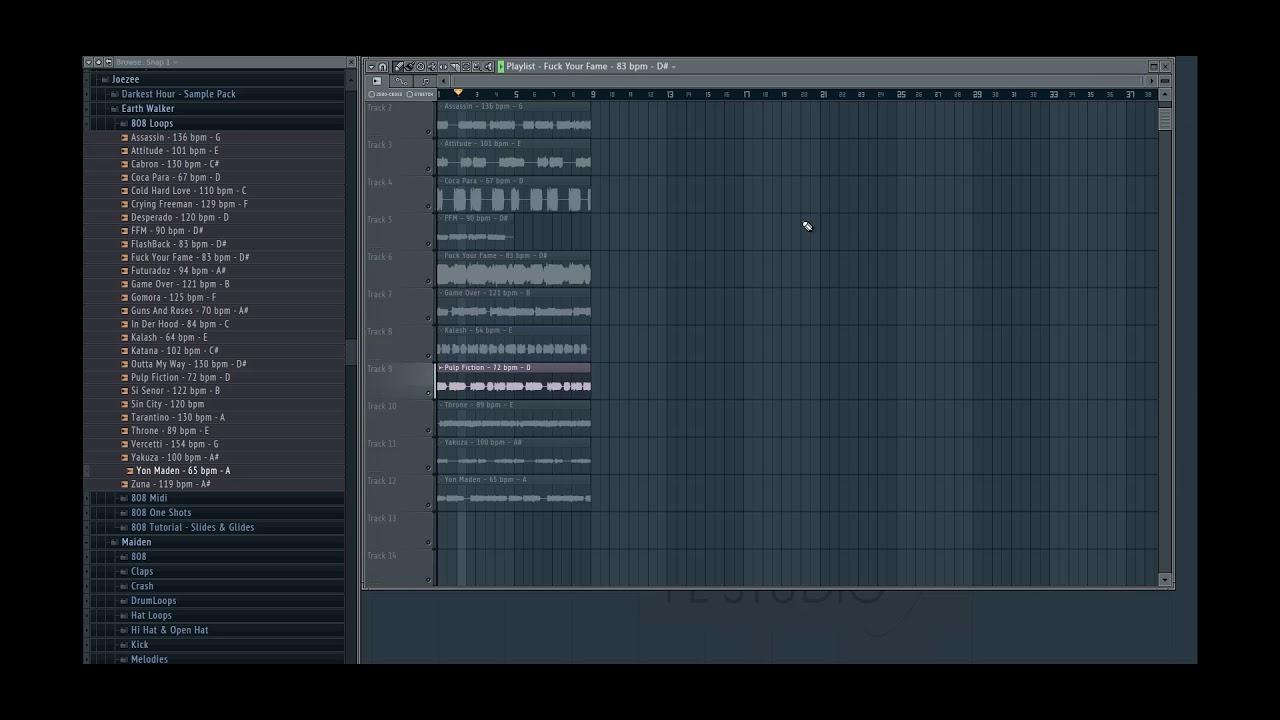 Earth Walker (808 MIDI & Loop Kit)