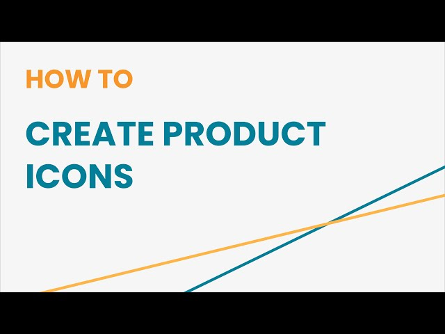 How to Create Product Icons