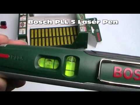 Bosch PLL Laser 1-P niveau à bulle