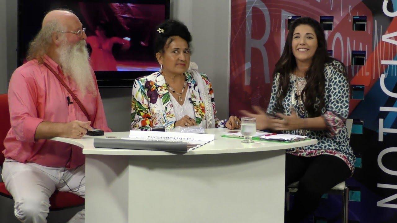 Television Regional Noticias - Rosario - Devi Dhyani Entrevista- Energia Elevada Sagrado Bailando