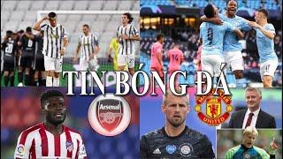 TIN BÓNG ĐÁ - CHUYỂN NHƯỢNG 2020 - 08/08 : Kasper muốn đến MU,Man City thắng Real,Juventus bị loại