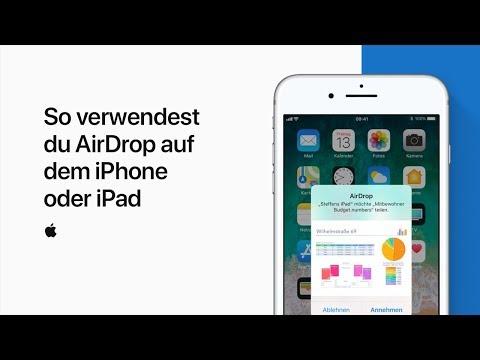 AirDrop auf dem iPhone oder iPad verwenden — Apple Support