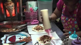 ТАЙЛАНД: Шаурма в Паттайе за 2 доллара... food for 2 dollars in in Pattaya Thailand