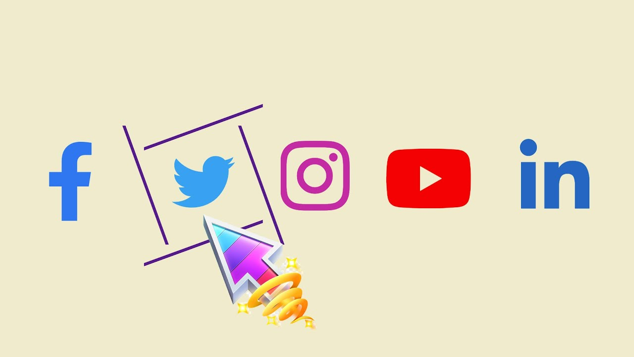 Amazing Hover Effects On Social Media Buttons   HTML & CSS