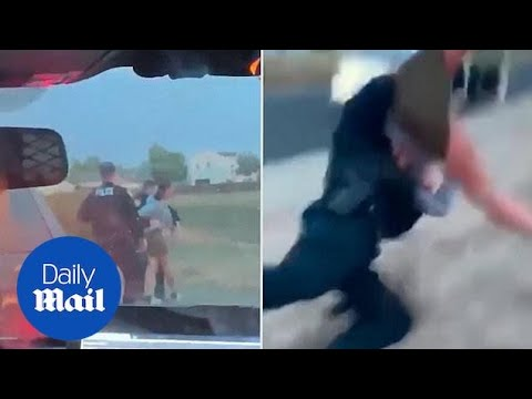 Officer body slams 31-year-old woman during traffic stop