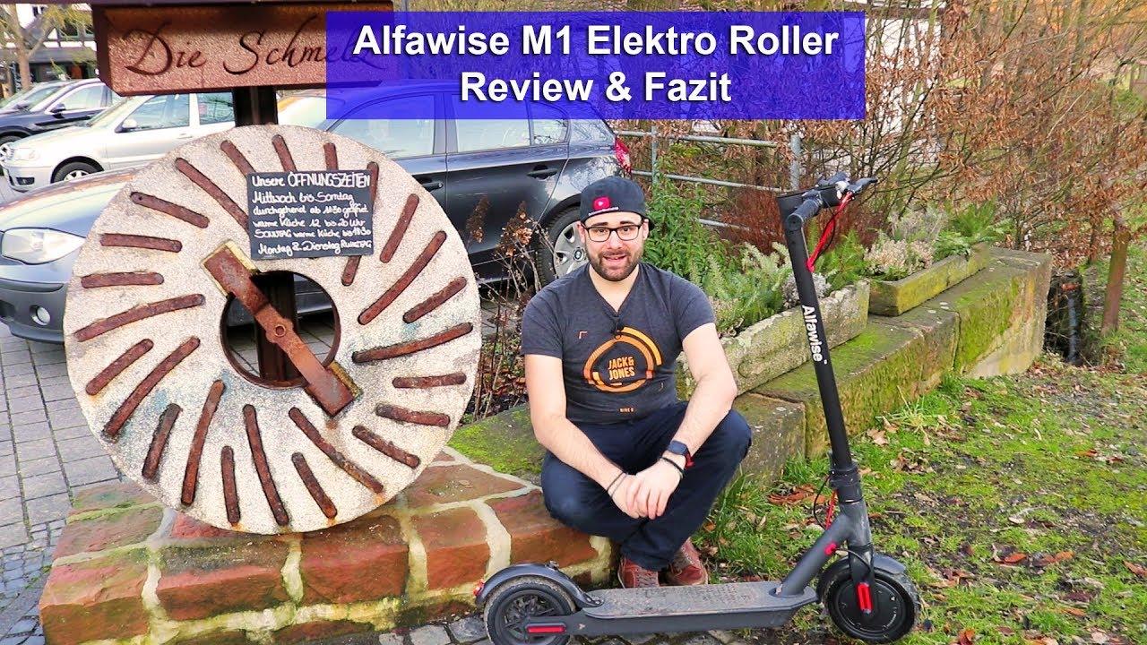 alfawise m1 elektro roller wie xiaomi m365 review. Black Bedroom Furniture Sets. Home Design Ideas