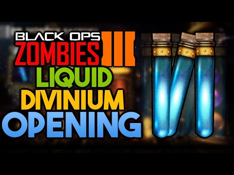 OPENING 200 LIQUID DIVINIUM! [INTERACTIVE STREAMER] CALL OF DUTY: BLACK OPS 3