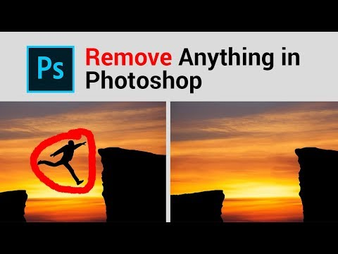 How to Remove Anything Easy In Photoshop Tricks thumbnail