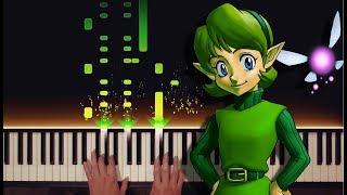 Zelda: The Lost Woods/Saria's Song (Piano Scherzo Variations)