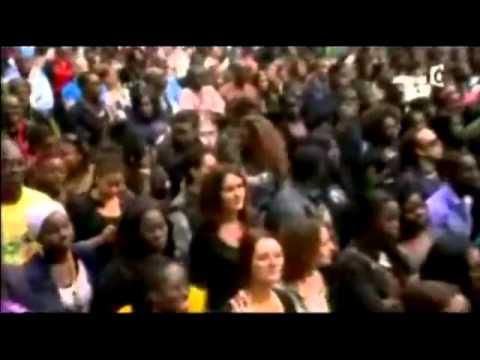 Jessy Matador,artiste musicien congolais Rdc, sur scène à la nuit afrique au stade de France ce samedi 11 juin 2011