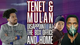 TENET & MULAN Numbers Are In... Not Great - SEN LIVE #210