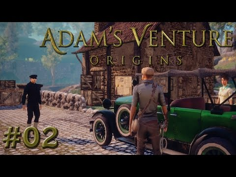 ADAM'S VENTURE: ORIGINS • #02 - Kabelsalat | Let's Play