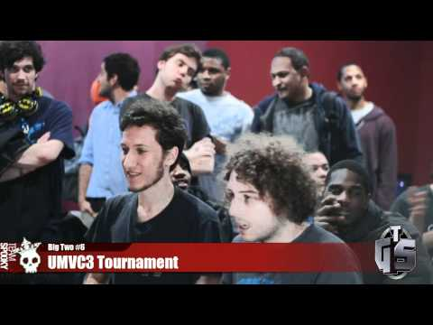 UMVC3 TS Nerdjosh vs Double AA - Big Two #6 Tournament Sponsored by TGS - 동영상