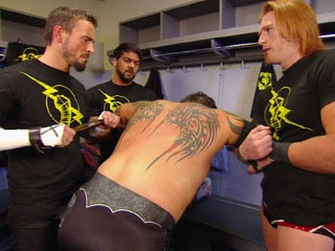 "Raw: Husky Harris accepts his ""new"" Nexus initiation"