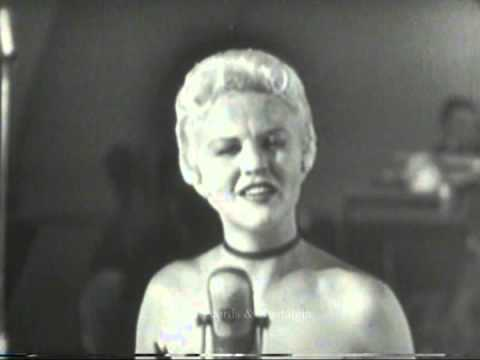 PEGGY LEE.  Live at The Hollywood Bowl 1954.  Love, You Didn't Do Right By Me.