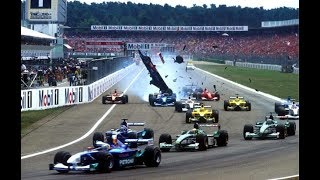 F1 2001 German Grand Prix highlights review