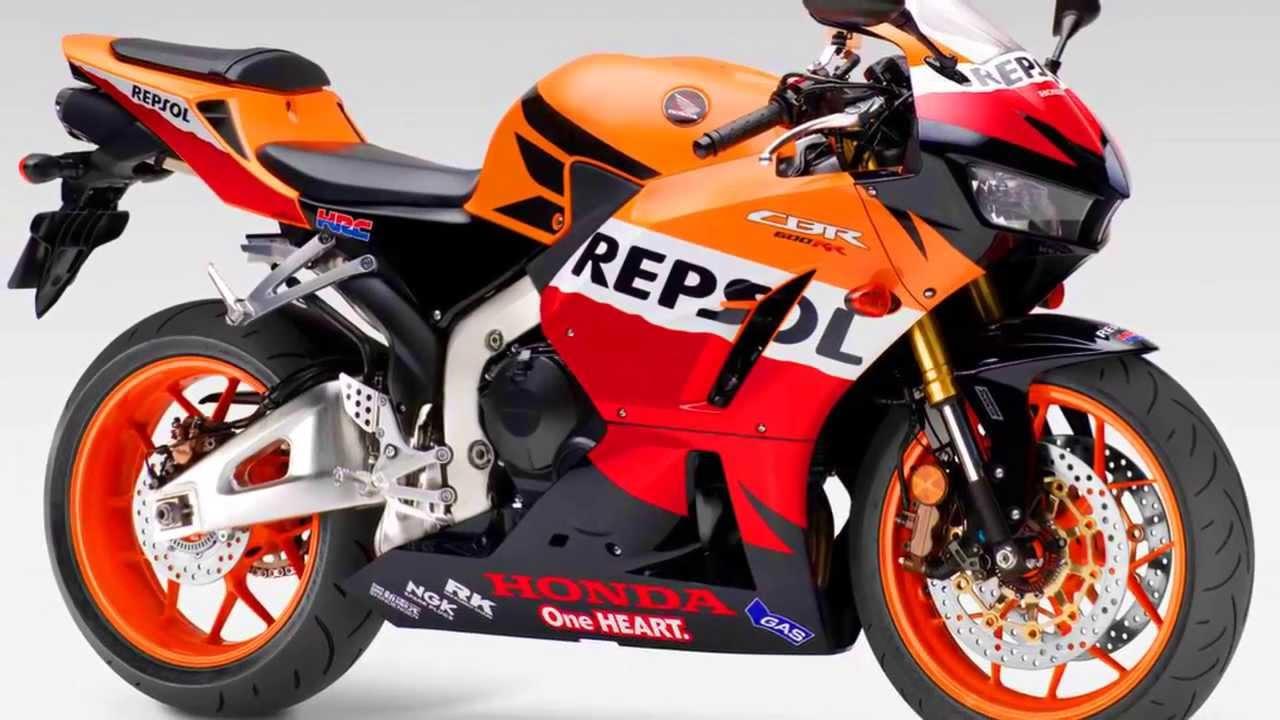 Honda Cbr 600 For Sale >> Honda CBR 600 RR Repsol 2013 599 cc 16v 120 cv 6,7 mkgf - YouTube