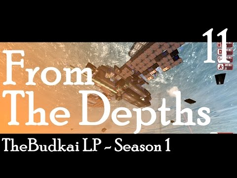 From The Depths :: Ep 11 :: Aircraft Design, Taking to the Skys!