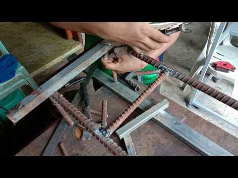 DIY craft from scrap metal | Stove project