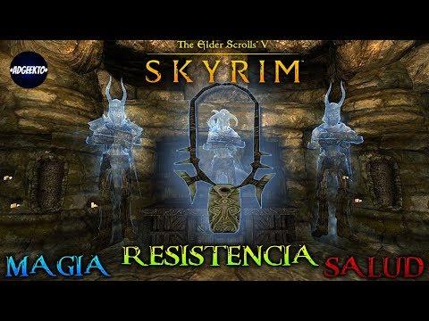 """Guia y Trucos The Elder Scrolls V: Skyrim PT.4 """"RESISTENCIA, MAGIA Y SALUD INFINITA"""" - Adgeekto"""
