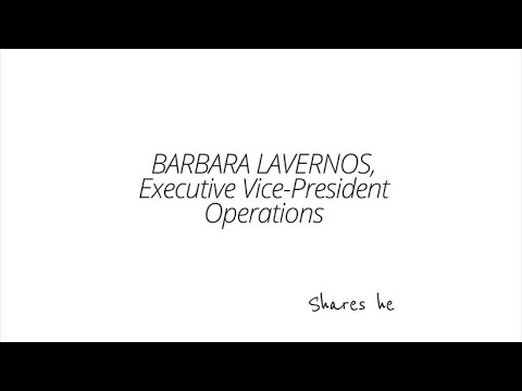 A conversation on diversity with Barbara Lavernos, Executive Vice-president, Operations