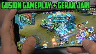 KECEPATAN JARI JESS GUSION TOP 1 GLOBAL + GAMEPLAY (Handcam) - Mobile Legends
