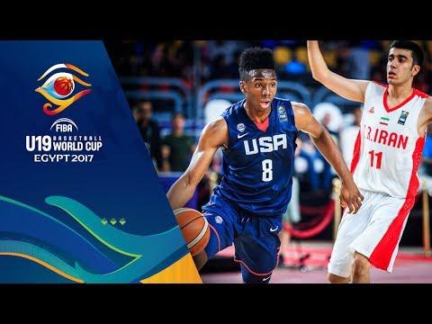 Iran v USA - Full Game - FIBA U19 Basketball World Cup 2017