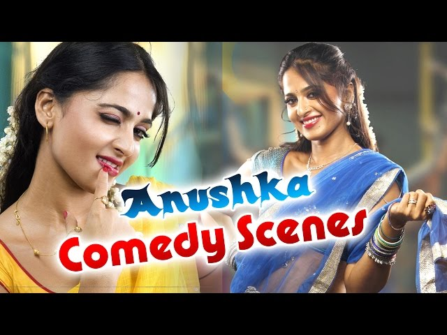 Anushka Comedy Scenes Back to Back Comedy Scenes    Latest Telugu Comedy