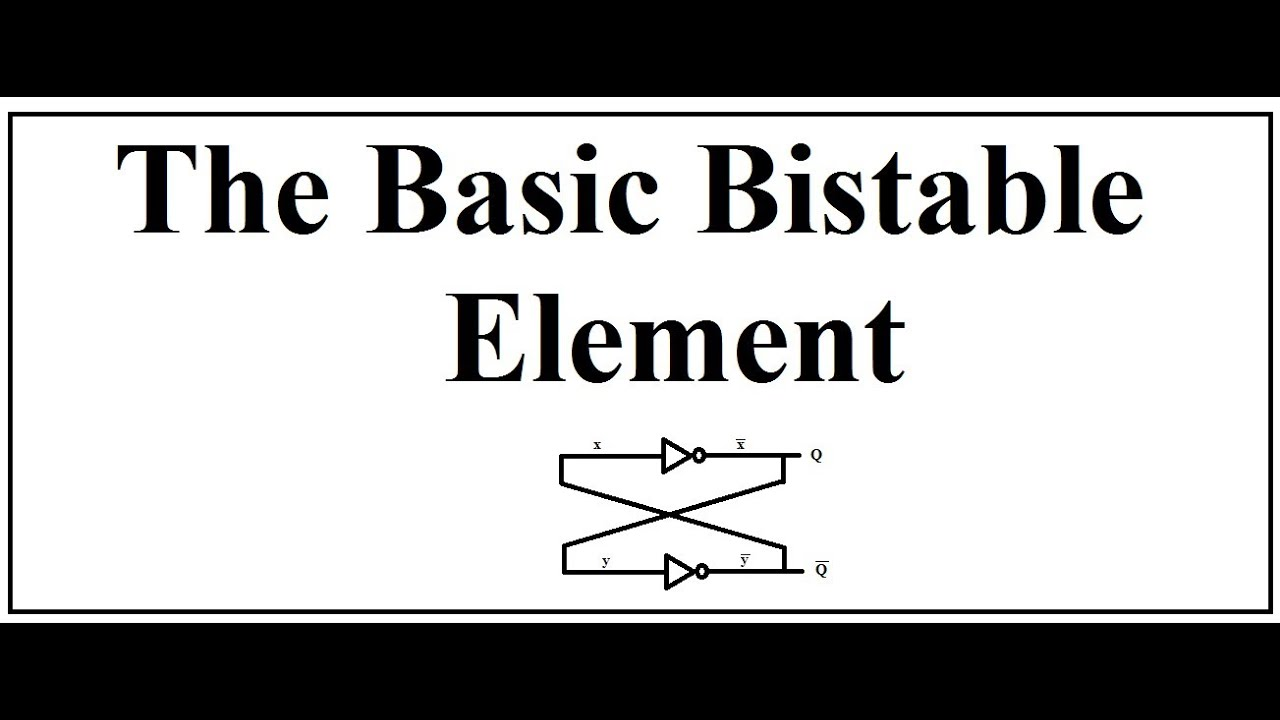 The Basic Bistable Element Youtube 555 Circuit Electronics In Meccano