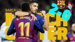 Follow the pre-game warmup with english commentary, followed by live play of match. ---- fc barcelona on social media subscribe to our official c...