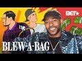 How Singer-Songwriter Eric Bellinger Went From Washing Dishes To Sweeping Charts | Blew A Bag
