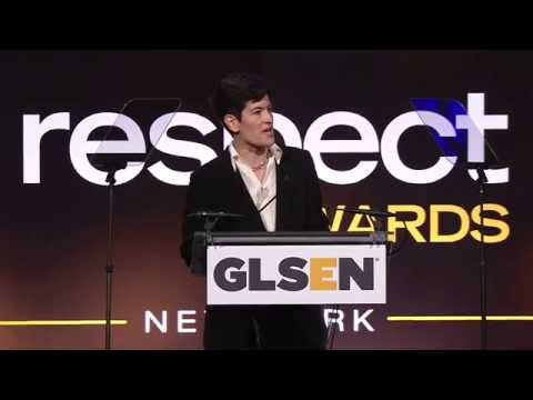 Dr. Eliza Byard at the 2016 GLSEN Respect Awards – NY - YouTube