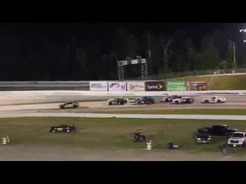 NASCAR American Muscle Car Speedfest. 4-19-14 Complete Feature