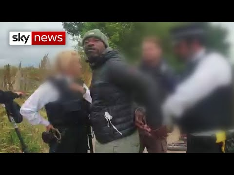 Police face calls for bias training after black man and son tackled