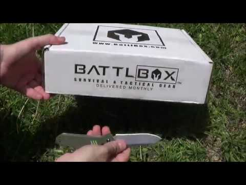 Battlbox Battle Box Mission 29 Operator Owned - July 2017 - Pro Plus Unboxing and Review