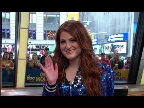 Meghan Trainor on Her Body Image Battle Live on 'GMA'