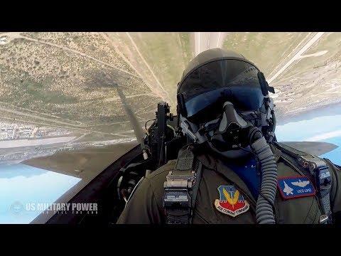 Eddie & Rocky - VIDEO: Cockpit Video of an F-22
