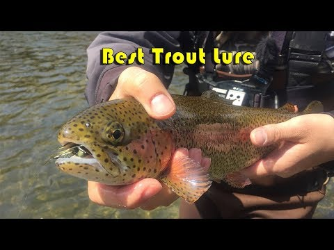NJ Trout Opening Week - Fishing Woolly Bugger Jig - South Branch Raritan River