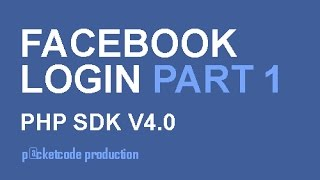 Facebook php sdk v4.0 part 1 - Login and get name of user