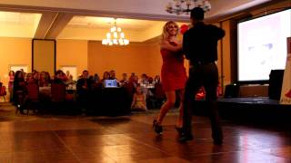 """Stand By Me"" Bachata Dance at the 2011 Alpha Phi Red Dress Gala"